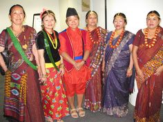 Traditional Nepali dress by British Red Cross - South East Territory, via Flickr