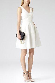 City Hall Wedding Dresses - Short Formal Frocks