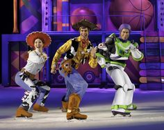 Disney on Ice' Worlds of Enchantment SF Bay Area Shows (Promo Code OFF) Buzz, Woody, Jessie from the Toy Story