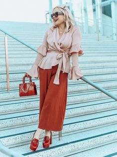 Pink & Red Duster Coat, Shirt Dress, Red, Pink, Jackets, How To Wear, Shirts, Dresses, Fashion