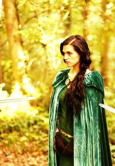 morgana, the only girl who can stand brave in the face of swords being pointed at her
