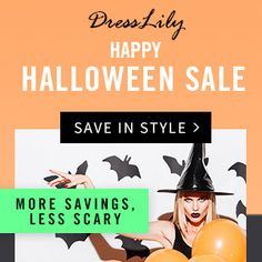 We're already in countdown untill Halloween and I couldn't be more excited, especially since  DressLily  has 15 gift cards worth $100 eac...