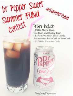 Have FUN this Summer with the Dr Pepper® Sweet Summer FUNd Contest at Walmart! @Dr.Pepper #drpepper #ad