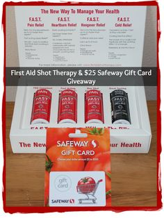 Don't forget the adult first aid kit when traveling & #giveaway @firstaidshots [ends 8/14]