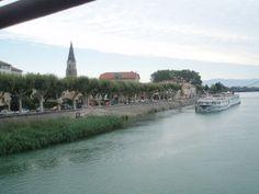 Tournon, France on Uniworld River cruise