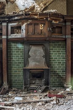 Abandoned mansion H, in Lancashire, England - Derelict Places............. ................................♥...Nims...♥