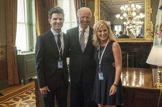 Leslie Knope meets Joe Biden - #genius #parksandrec