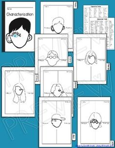 Wonder, by R.J. Palacio: Interactive Notebook Characteriza