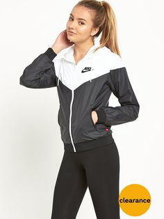 I LOVE THIS NIKE WINDBREAKER SO MUCH (in a size medium). It's so cute and would be perfect for the fall!!