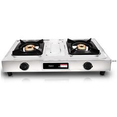 Buy online #Impex #Gas Stove IGS12C 2 Burner for Rs.3,100/-