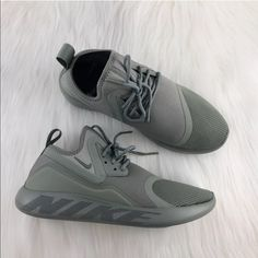 best service 0ff5a 79173 Shop Women s Nike Green size 8 Sneakers at a discounted price at Poshmark.  Description  Women s Nike LunarCharge Essential Olive Green Sneakers  features a ...
