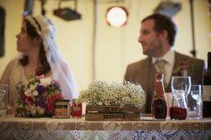 Boho Planned Weddings: Rebecca and Luke's Vintage Festival Wedding