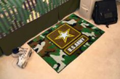 FanMats: Military - US ARMY Starter Rug.  Buy it @ ReadyGolf.com