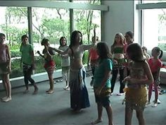 International Teens, Children, Kids Belly Dance Workshop by My Belly Dan...