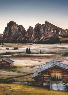 Seiser Alm, Italy: the largest high altitude Alpine meadow in Europe