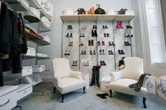 shoe storage in closet