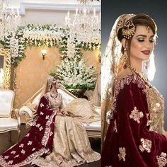 India Emporium is a one stop ethnic wear online store for all your online saree shopping, designer wear, salwar kameez, bridal wear, lehenga cholis & artificial jewellery needs. Pakistani Wedding Outfits, Pakistani Wedding Dresses, Bridal Outfits, Indian Dresses, Bridal Mehndi Dresses, Bridal Lehenga, Walima Dress, Shadi Dresses, Bridal Shawl