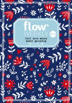 Flow Weekly 3-2015. Pattern by Mirdinara (Dinara Mirtalipova)