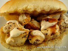 Chicken Spiedie Sandwiches...