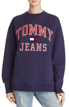 aa310331 Tommy Jeans Patch Sweatshirt Tommy Jeans Sweatshirt, Tommy Hilfiger  Sweatshirt, Graphic Sweatshirt, Tommy