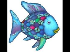 El peix irisat (youtube) Digital Story, Grande Section, Rainbow Fish, Puppets, Storytelling, Smurfs, Dinosaur Stuffed Animal, Film, Youtube
