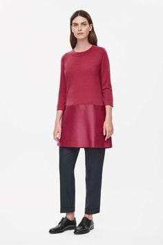 COS | Side-pocket tunic dress