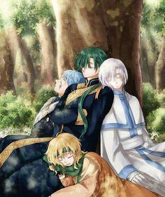 akatsuki no yona Yona Akatsuki No Yona, Anime Akatsuki, Me Me Me Anime, Anime Guys, Anime Manga, Anime Art, Shin Ah, Otaku, Dragon Warrior