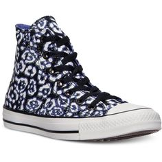 Converse Women's Chuck Taylor Hi Animal Casual Sneakers from Finish... ($30)