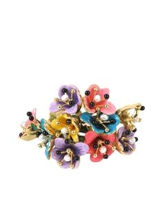 JUST A FLOWER  MULTI BELL RING SET