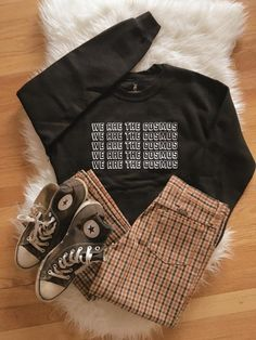 We are the Cosmos Sweatshirt - Vintage outfits - Hipster Outfits, Edgy Outfits, Grunge Outfits, Cute Casual Outfits, Fall Outfits, Fashion Outfits, Hipster Clothing, Rock Outfits, Party Outfits