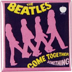 BEATLES Pin badge, This would be a great time to come together #beatles #cometogether #abbeyroad #music #entertainment #thebeatles #pink #pinbadge #rockabilia #licensed #licensedmerch #bandmerch #band