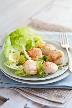 Scallop Salad With Blood Orange Vinaigrette by tartelette, via Flickr