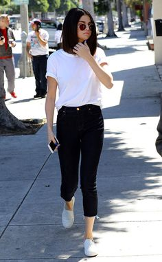 Selena Gomez from The Big Picture: Today's Hot Photos  Casual cool! The songstress is seen heading to lunch with friends in Los Angeles.