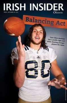 Tyler Eifert spreads his love of country music and football around the Irish  - Irish Football - The Observer - University of Notre Dame and Saint Mary s  ... 1af49f6fd