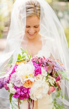 The prettiest wedding bouquets always have flawless colors, elegant design and stunning standout elements. Today's floral designs feature gorgeous pinks.
