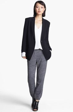 T by Alexander Wang Crepe Blazer available at #Nordstrom