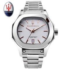 133e434906b Maserati Marca relógio de Pulso Dos Homens Relógio de Quartzo 100 m À Prova  D  Água Fuoriclasse Casual Masculino Relógios de Quartzo Moda Dos Homens  Relógio ...