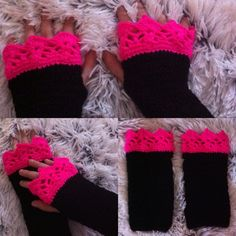 Polswarmers /handwarmers / vingerloze handschoenen Annemarie Evers /mani di Anne. Je vind me op Facebook en instagram