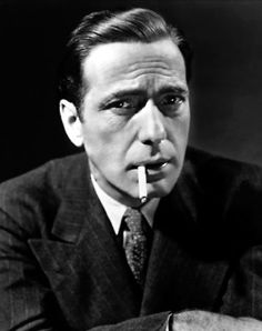 Humphrey Bogart (photo c1941)  SO dapper!