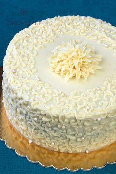 Szybki, prosty krem do tortu (ganache) - Orchideli Domowy Cukiernik Chocolate Ganache, Vanilla Cake, Cake Recipes, Cake Decorating, Birthday Cake, Sweets, Anna, Recipe For Coconut Cake, Recipes