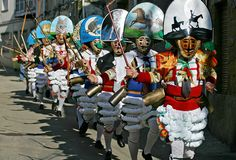 carnaval de cadiz. los peliqueiros.