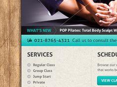 Pilates desigh.