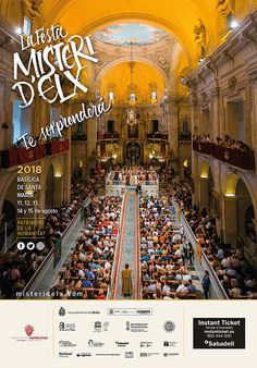 Campaña publicitaria #MisteridElx2018 diseñada por Tarsa