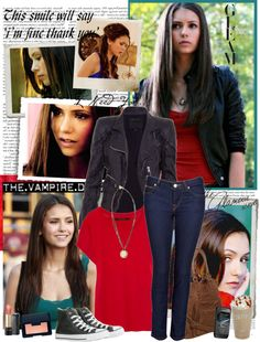 """""""Elena Gilbert Style"""" by mery90 ❤ liked on Polyvore"""