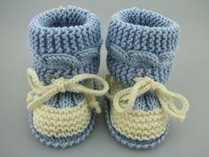 Baby-Stiefel selber stricken-DIY-Baby-Schuhe                                                                                                                                                      Mehr