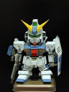 【PAPERTANG】SD RX-78 NT1 Alex Gundam