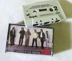 Huey Lewis and The News Fore! Cassette Tape Huey Lewis Cassette Tape Pop Music 1986