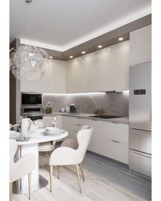 66 inspiring kitchen cabinet colors and ideas that will blow you away best decor kitchen ideas - Modern Kitchen Kitchen Inspirations, Beautiful Kitchens, Beautiful Kitchen Cabinets, Kitchen Design Trends, Kitchen Decor, Modern Kitchen, Contemporary Kitchen, Kitchen Room Design, Kitchen Layout