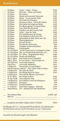 Katalog 2015 vom Verlag Heilbronn -  Seite 19 - Bestellschein. Wir machen Bücher für Menschen auf dem Inneren Pfad  www.verlag-heilbronn.de