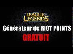 [Nouveau!] Générateur de Riot Points Gratui